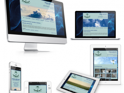 Frug-Air Kft. - Responsive Webdesign