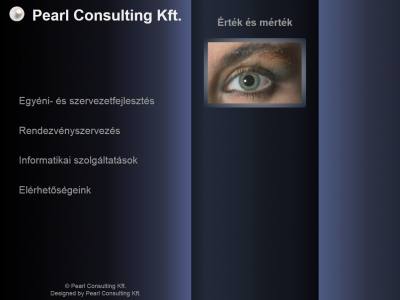 Pearl Consulting Kft. - weboldal